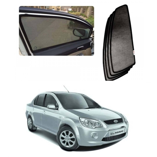 Car Window Magnetic Sunshade For Ford Classic Set Of 4