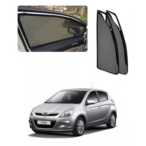 Car Window Magnetic Sunshade For Hyundai i20 Old (zipper)