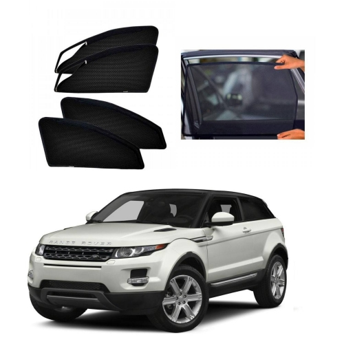 Car Window Magnetic Sunshade For Land Rover Evoque (zipper)
