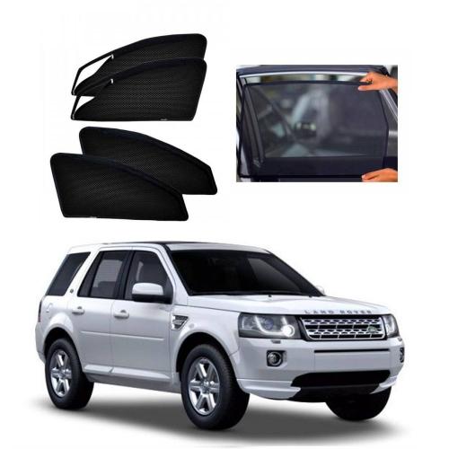 Car Window Magnetic Sunshade For Land Rover Freelander (zipper)