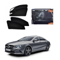 Car Window Magnetic Sunshade For Mercedes CLA 200 (zipper)