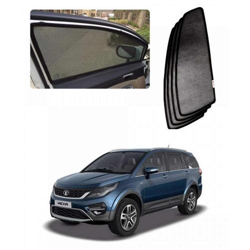 Car Window Magnetic Sunshade For Tata Hexa Set Of 4