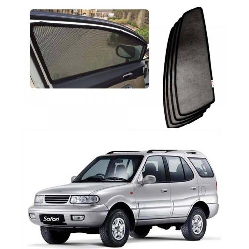 Car Window Magnetic Sunshade For Tata Safari Set Of 6