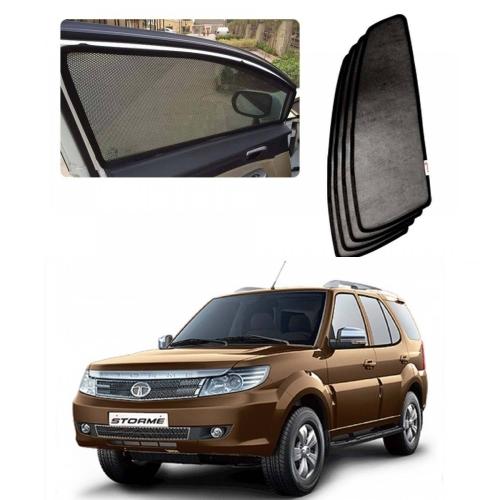 Car Window Magnetic Sunshade For Tata Safari Storm Set Of 6