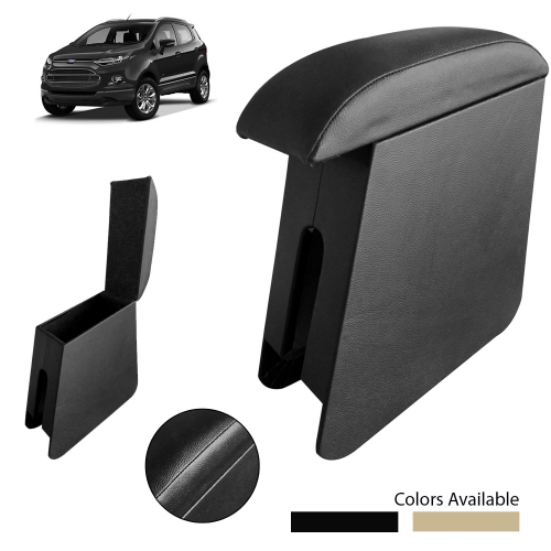Custom Fitted Wooden Car Center Console Hand Armrest for Ford Ecosport All Models