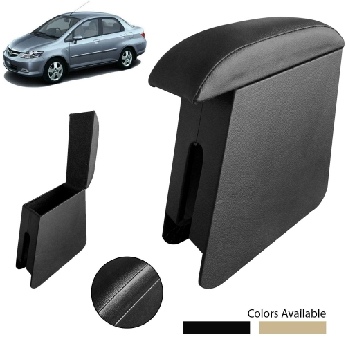 Custom Fitted Wooden Car Center Console Hand Armrest for Honda City ZX all Models
