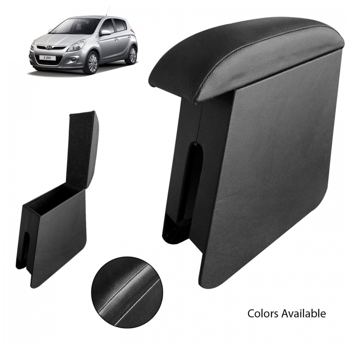 Custom Fitted Wooden Car Center Console Hand Armrest for Hyundai i20 New i20 2020 All Models