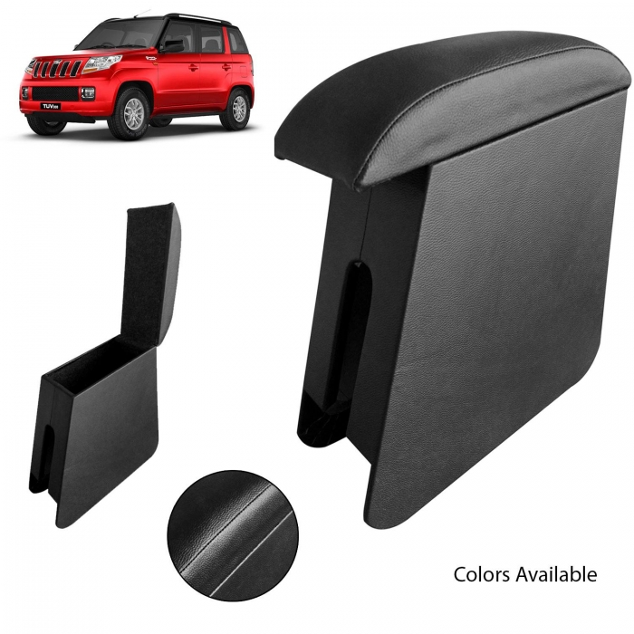 Custom Fitted Wooden Car Center Console Hand Armrest for Mahindra Tuv 300 all Models