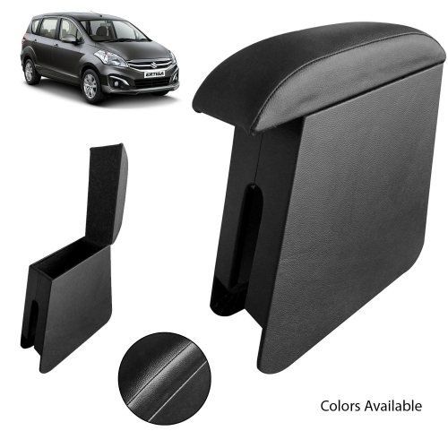Custom Fitted Wooden Car Center Console Hand Armrest for Maruti Suzuki Ertiga all Models