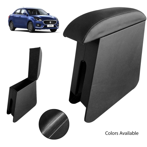 Custom Fitted Wooden Car Center Console Hand Armrest for Maruti Suzuki Swift Dzire 2017 all Models