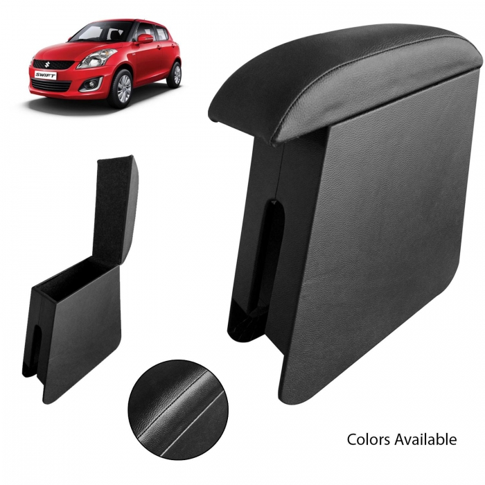 Custom Fitted Wooden Car Center Console Hand Armrest for Maruti Suzuki Swift New all Models