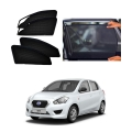 Datsun Go Car Zipper Magnetic Window Sun Shades Set Of 4