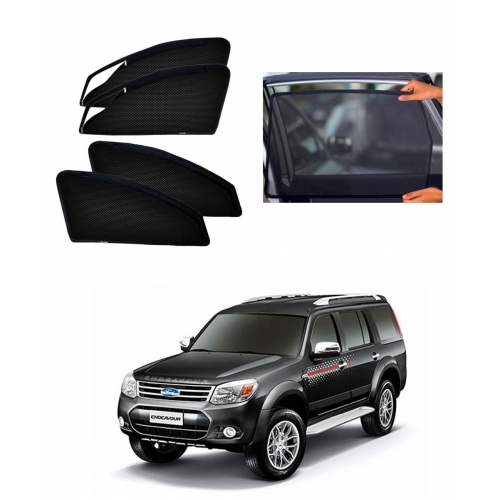 Ford Old Endeavour Car Zipper Magnetic Window Sun Shades Set Of 6