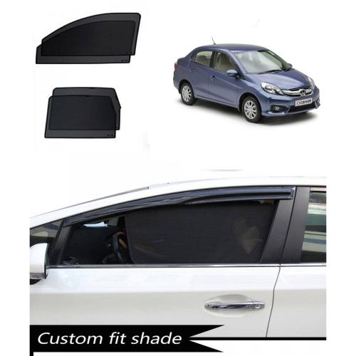 Honda Amaze Custom Fit Car Window Fixed Sun Shades - Set of 4