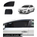 Honda City Idtech 2014 Custom Fit Car Window Fixed Sun Shades - Set of 4