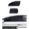 Honda Civic Custom Fit Car Window Fixed Sun Shades - Set of 4