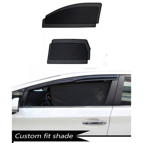 Honda Jazz 2014 Custom Fit Car Window Fixed Sun Shades - Set of 4