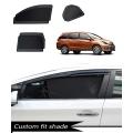 Honda Mobilio Custom Fit Car Window Fixed Sun Shades - Set of 6