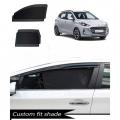 Hyundai Grand i10 Nios Custom Fit Car Window Fixed Sun Shades - Set of 4