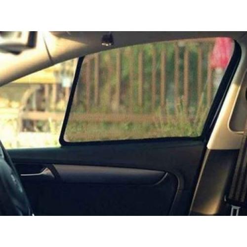 Hyundai Verna Fluidic Custom Fit Car Window Fixed Sun Shades - Set of 4