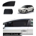 Hyundai i20 Elite Custom Fit Car Window Fixed Sun Shades - Set of 4