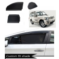 Mahindra Scorpio Old Custom Fit Car Window Fixed Sun Shades - Set of 6