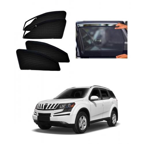 Mahindra XUV 500 Car Zipper Magnetic Window Sun Shades Set Of 6