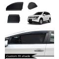 Mahindra Xuv 500 Custom Fit Car Window Fixed Sun Shades - Set of 6