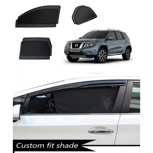 Nissan Terrano Custom Fit Car Window Fixed Sun Shades - Set of 6