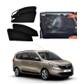 Reanult Lodgy Car Zipper Magnetic Window Sun Shades Set Of 6