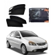 Tata Indigo Car Zipper Magnetic Window Sun Shades Set Of 4