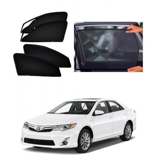 Toyota Camry Car Zipper Magnetic Window Sun Shades Set Of 4