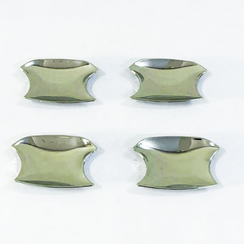 Kia Sonet Chrome Plated Door Handle Bowl Cover(Set Of 4Pcs.)