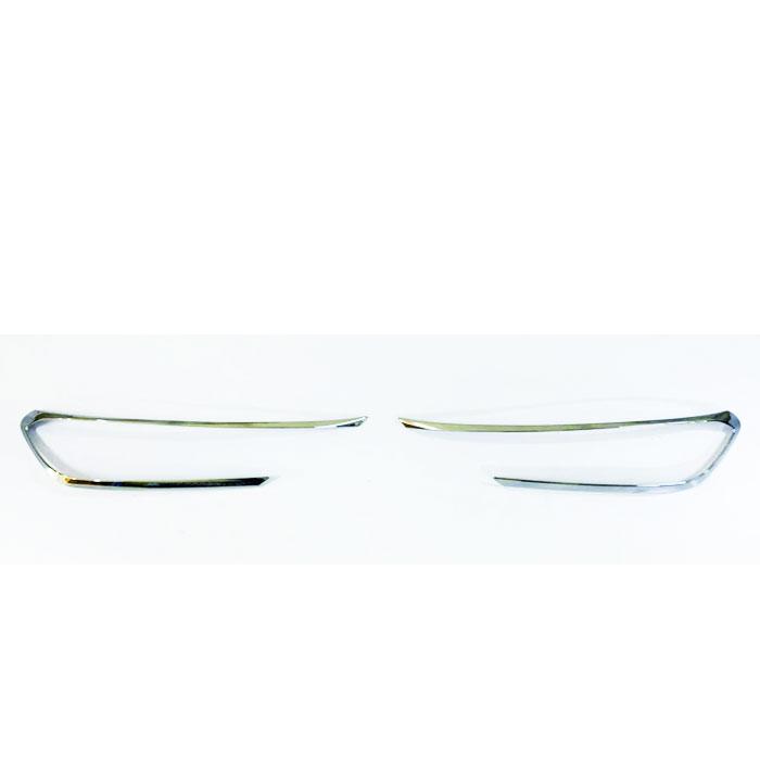 Kia Sonet Headlight Chrome Garnish Cover (Set of 2Pcs.)
