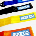 Sparco Racing Premium Universal Front & Rear Tow Strap/Tow Hook Towing Belt