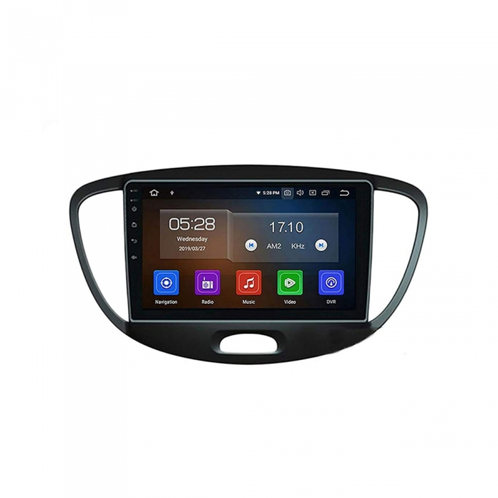 Hyundai i10 Old 9 Inches HD Touch Screen Smart Android Stereo (2GB, 16GB) with Stereo Frame By Carhatke