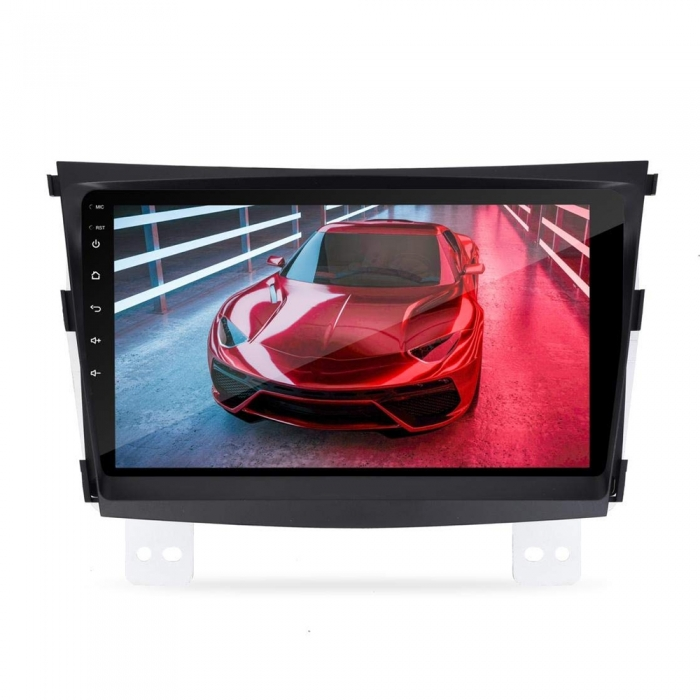 Mahindra XUV300 9 Inches HD Touch Screen Smart Android Stereo (2GB, 16GB) with Stereo Frame By Carhatke
