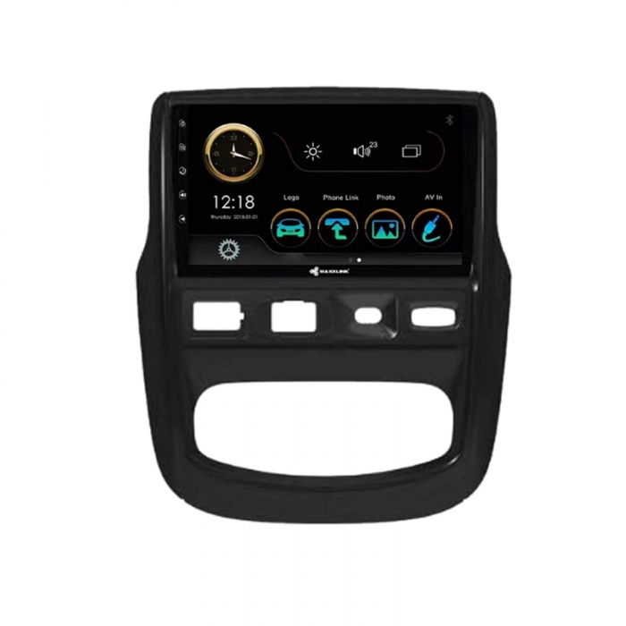 Renault Duster Old 2012-2014 9 Inches HD Touch Screen Smart Android Stereo (2GB, 16GB) with Stereo Frame By Carhatke