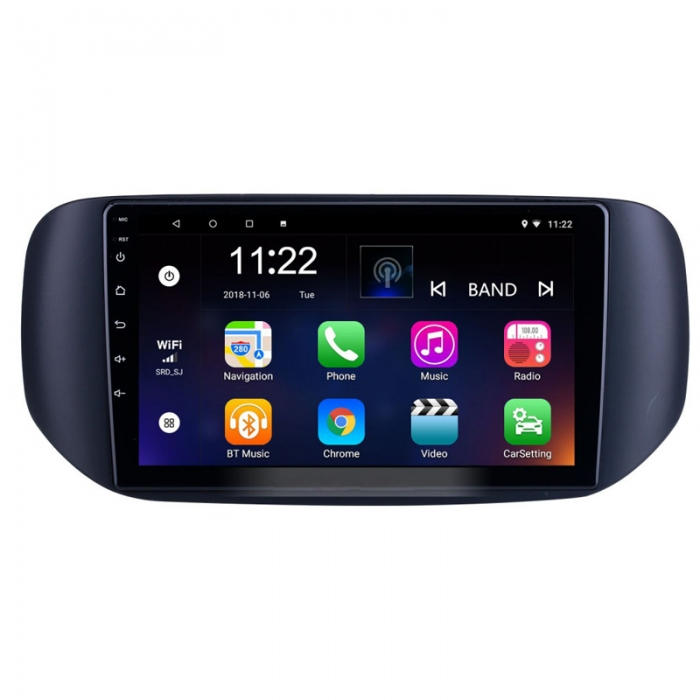 Tata Hexa 9 Inches HD Touch Screen Smart Android Stereo (2GB, 16GB) with Stereo Frame By Carhatke