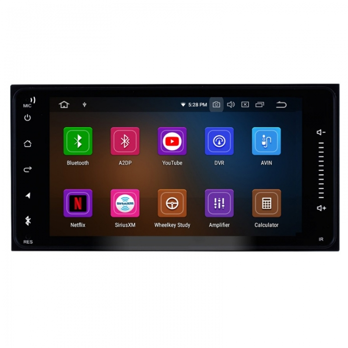 Toyota Universal 9 Inches HD Touch Screen Smart Android Stereo (2GB, 16GB) with Stereo Frame By Carhatke