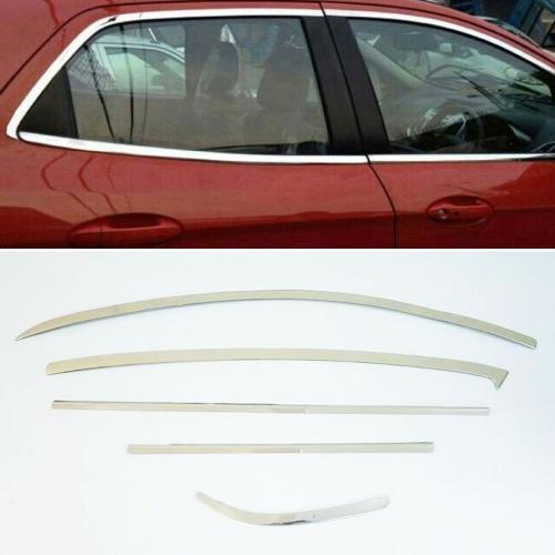 Nissan Sunny Full Window Chrome Garnish Trims (Set Of 10Pcs.)