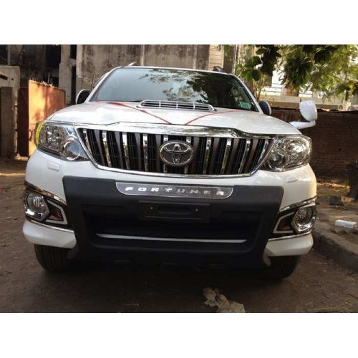 Toyota Fortuner Type 2 Prado Style Front Grill in High Quality ABS Material (Made In Thailand)