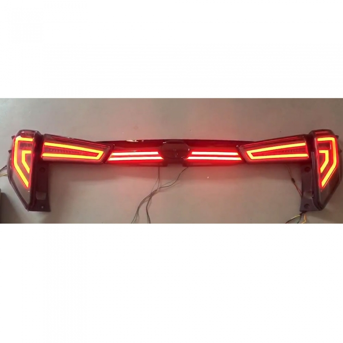 Toyota Innova Crysta Modified Tail Light and Dicky Light with Matrix Indicator