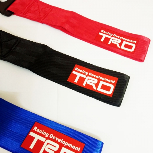 TRD Racing Premium Universal Front & Rear Tow Strap/Tow Hook Towing Belt