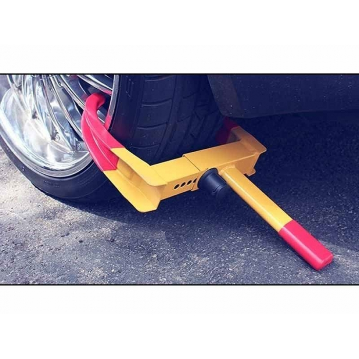 Car Wheel Tyre Anti Theft Lock Clamp Security For All Car - NYPD Style