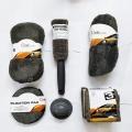 Carhatke 7 Pieces Car Washing Cleaning Kit 3 Microfiber Cloth, 1 Polish & Wax Applicable Pads, Wash Sponge, Wash Glove, Wheel Brush For Car & Bike