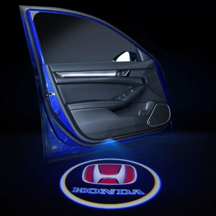 Wireless Honda Logo Shadow Projector Ghost Lights Kit For Honda New Amaze (Set Of 2Pcs. )