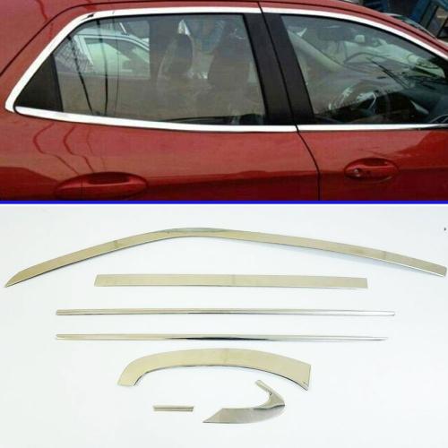 Maruti Suzuki WagonR 2015 Full Window Chrome Garnish Trims (Set Of 14Pcs.)