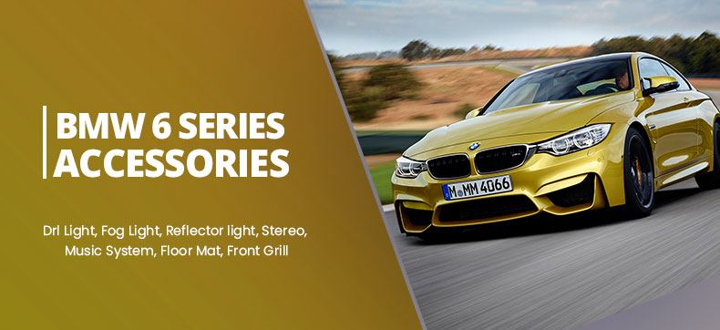 BMW 6 Series Accessories