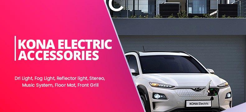 Hyundai Kona Electric Accessories and Parts